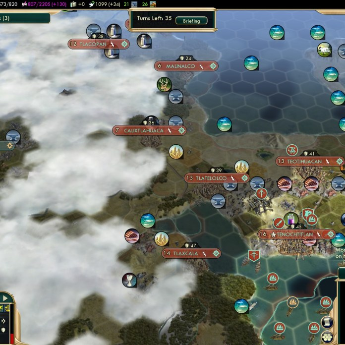 Civilization 5 Conquest of the New World Spain Deity - Bribing the Aztecs