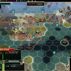 Civilization 5 Conquest of the New World Spain Deity - Tenochtitlan falling