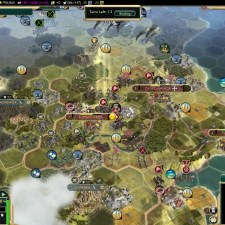 Civilization 5 Conquest of the New World Spain Deity - Battle for Buffalo Creek