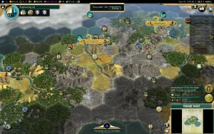 Civilization 5 Conquest of the New World Inca Deity Game 9: Lonely Island