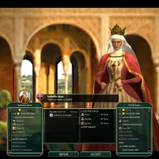 Civilization 5 Conquest of the New World Aztecs Deity 3a - Bribe Spain