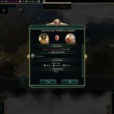 Civilization 5 Conquest of the New World Aztecs Deity 3a - Declare war on Spain