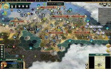 Civilization 5 Conquest of the New World Aztecs Deity 3a - ES+PT vs Inca