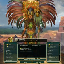 Civilization 5 Conquest of the New World Aztecs Deity 3a - Peace with Mayans, War with Inca