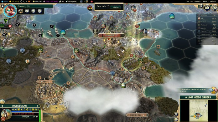 Civilization 5 Conquest of the New World Aztecs Deity 3b - Palenque captured