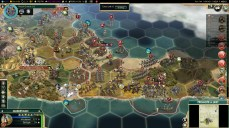 Civilization 5 Conquest of the New World Aztecs Deity 3b - Offense vs Spanish colonies