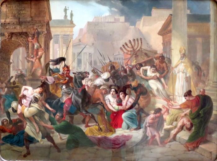 The Sack of Rome, Karl Briullov, 1833–1836