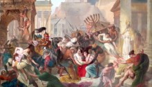 Genseric sacking Rome 455 AD