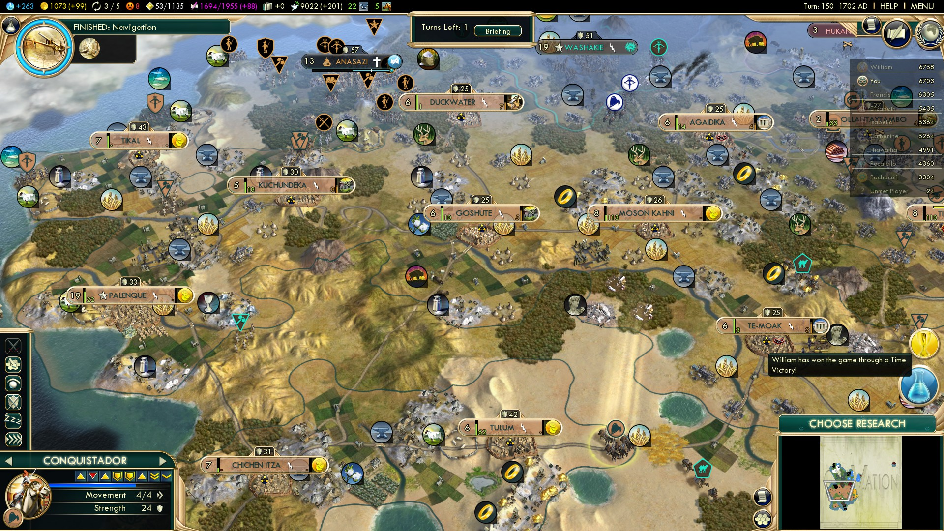 Conquest of the New World Mayan Strategy (Deity)
