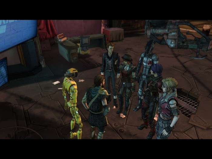 Tales from the Borderlands - final chapter