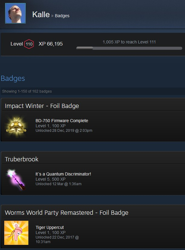 Steam Calculator: How much have you spent on Steam? Trading Cards, Badges, Steam Level