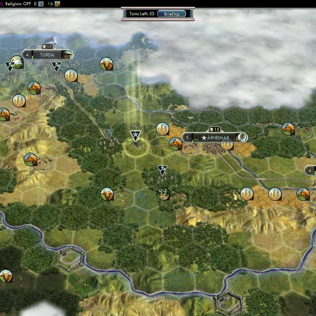 Civilization 5 Fall of Rome Goths Deity - General & Road building