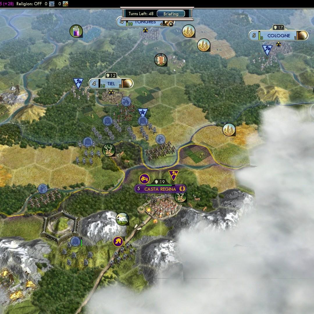 Fall of Rome Franks Deity 22 Castra Regina too early