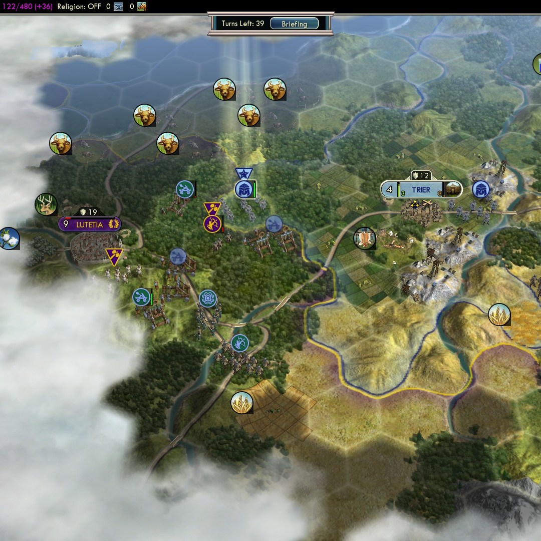 Fall of Rome Franks Deity 31 late for Lutetia