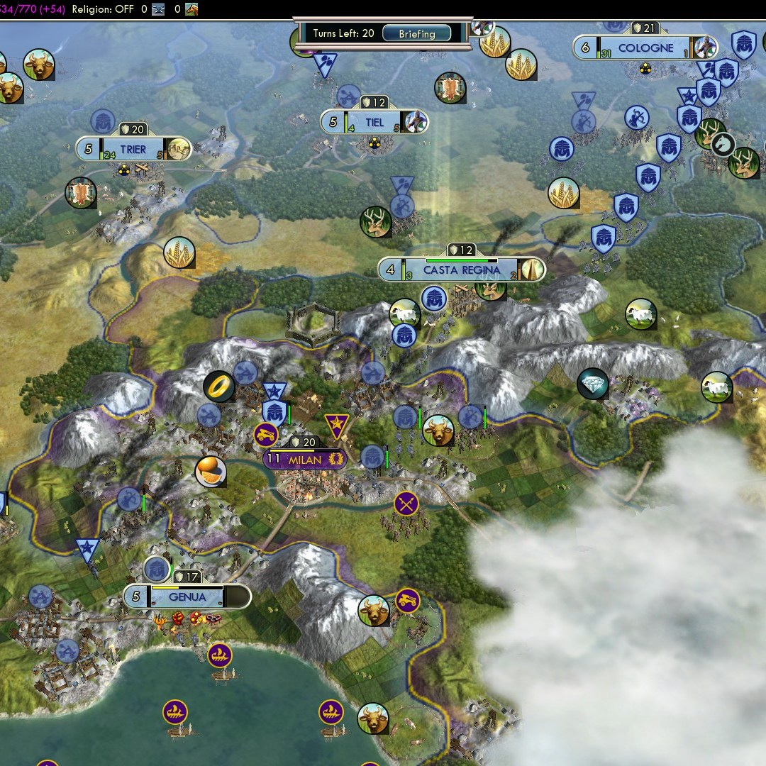 Fall of Rome Franks Deity 48 Eastern Front