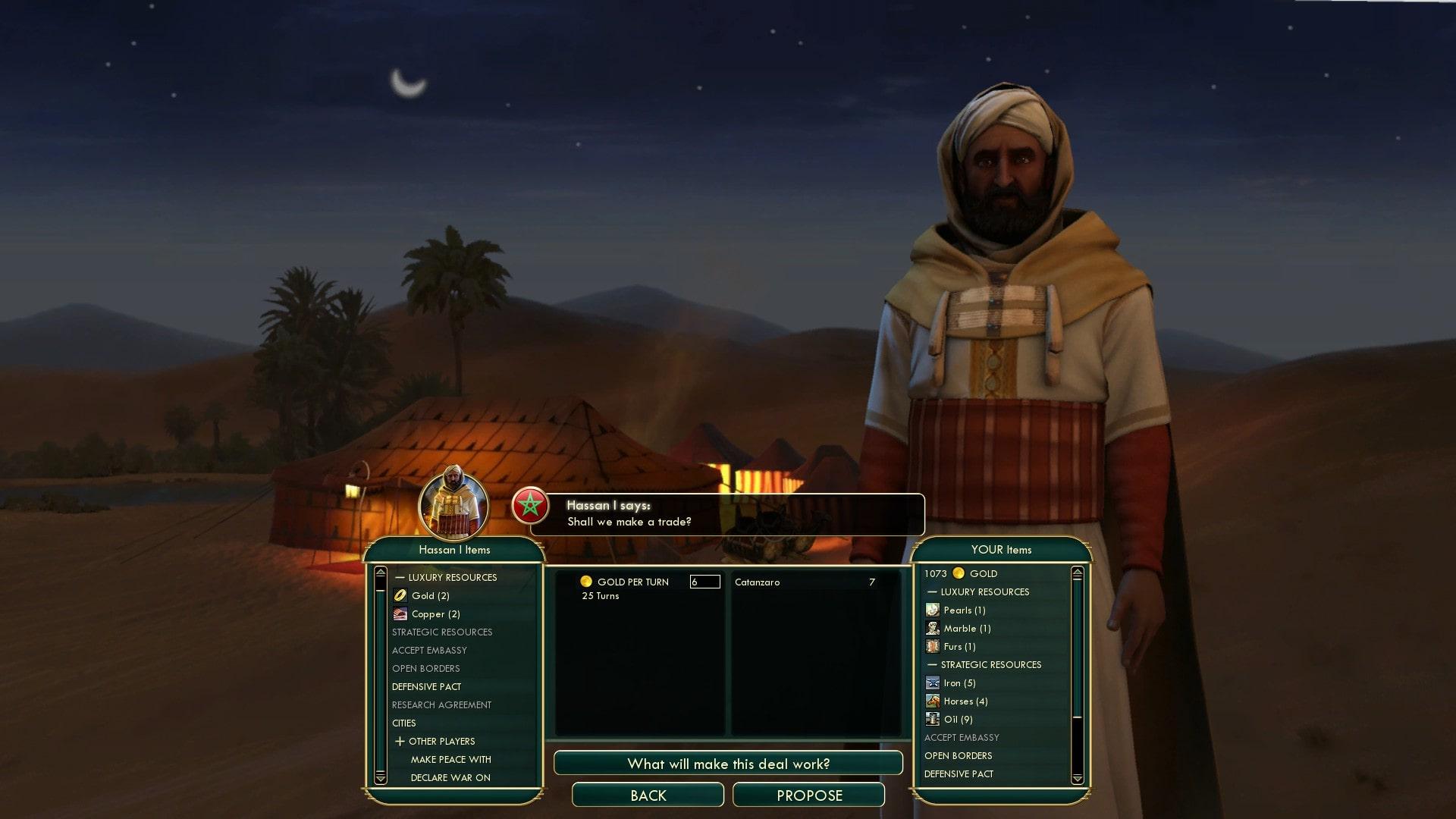 Civilization 5 Scramble for Africa Egypt Deity - Sell Catanzaro