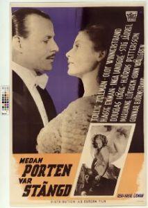 Medan porten var stängd (1946) Filmografinr 1946/33