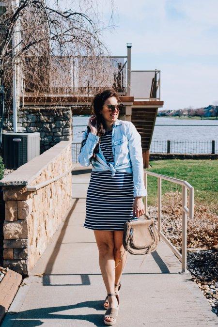6 ways to wear a Tshirt dress-1