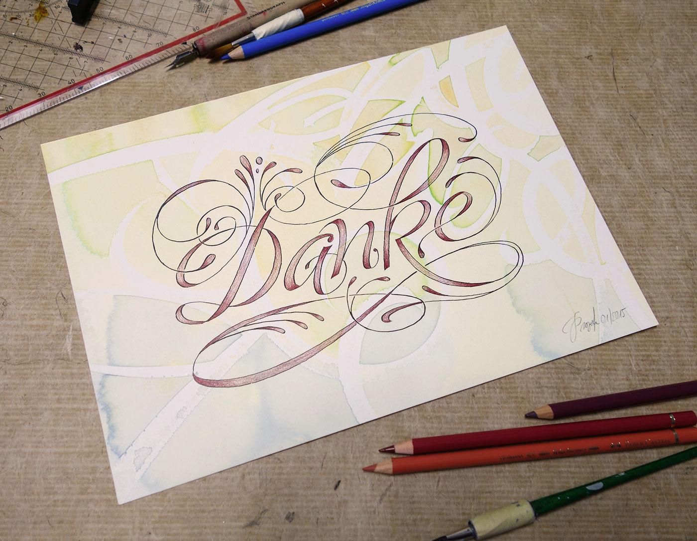 Kalligrafie Propfe Feste  Kalligrafie Propfe