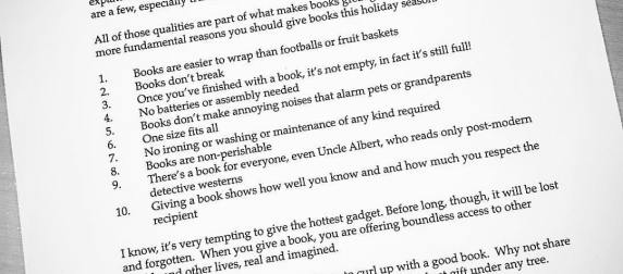 10 Reasons Books Make the Best Christmas Gifts According to John Grisham