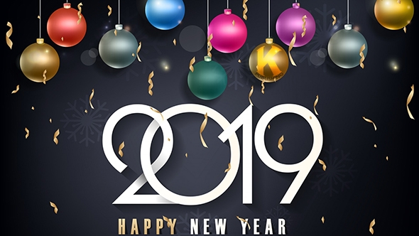 Happy New Year! Move forward boldly into 2019 with your friends at Kallisti Publishing!
