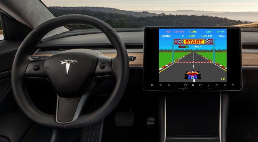 Tesla atari games