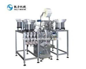 China Connecting Terminal Block Counting Packing Machine