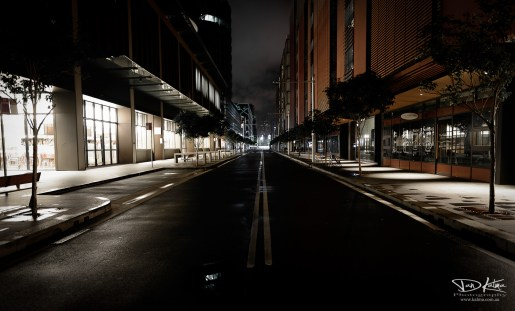 Barangaroo Sydney new south wales australia cityscape night roads dan kalma photography