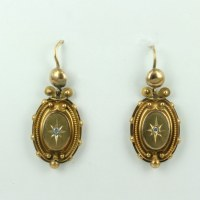 Buy Victorian era drop antique earrings. Sold Items, Sold ...