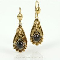 Antique Earrings  Jewelry