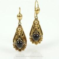 Antique Earrings  Jewelry