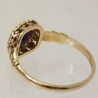 Buy Antique garnet and diamond ring Sold Items, Sold Rings