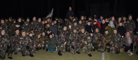 Jaunųjų šaulių stovykla