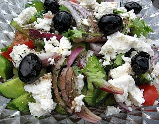 Greek Horiatiki Salata