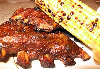 "Barbecued ""Onion Soup"" Ribs With Chipotle BBQ Sauce"