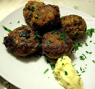 Keftedes With Ouzo
