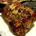 Roasted Loin of Pork With a Fennel Seed Crust