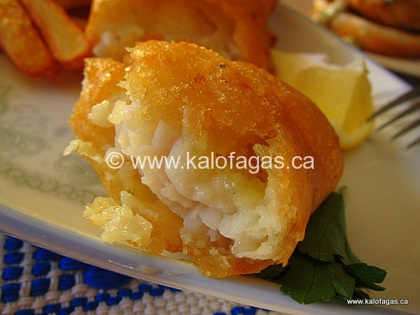 Best beer battered fish ever kalofagas greek food for How do you make batter for fish