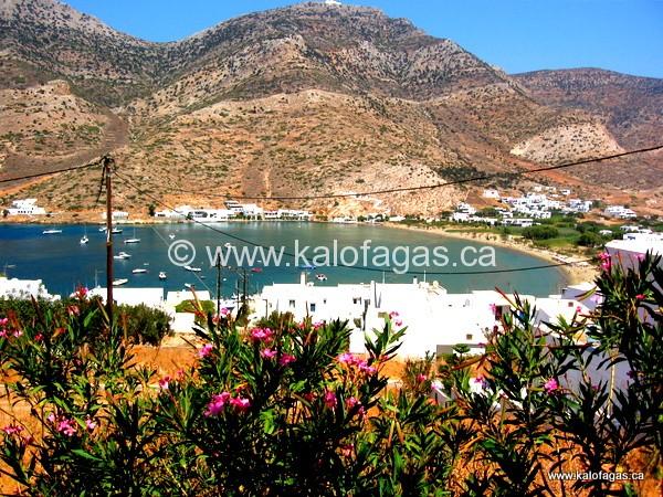 Overlooking Kamares Beach, Sifnos