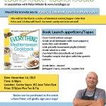 Everything Mediterranean Cookbook Launch in Montreal!