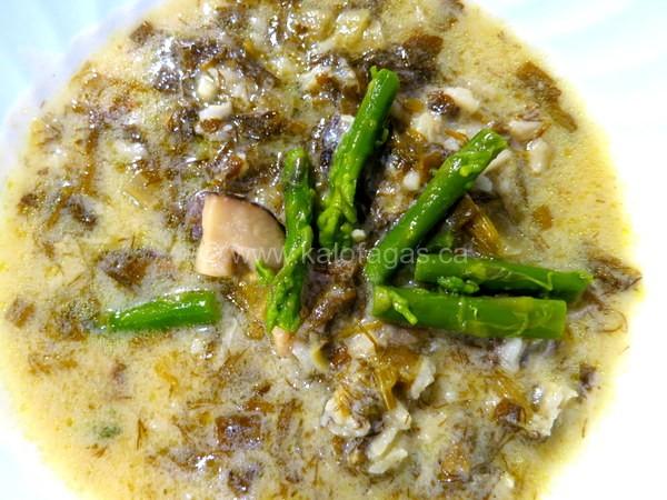 Mushroom Magheritsa Soup