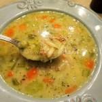 Chicken Avgolemono With Vegetables and Kritharaki