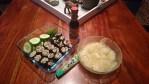 Sushi aus Blumenkohl