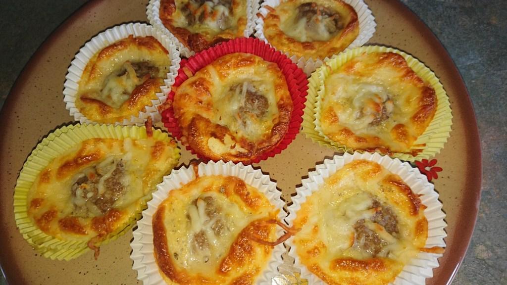 Hackfleisch Muffins