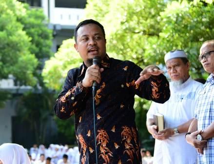 Ketgam : Wakil Gubernur Sulsel Andi Sudirman Sulaiman
