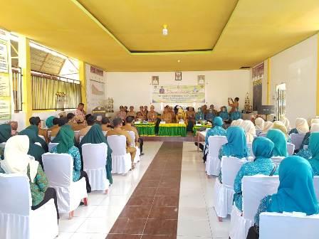 Ketgam : Kegiatan Penilai Lomba Desa Sanggula Kecamatan Moramo Utara berhak mewakili Kabupaten Konawe Selatan (Konsel) pada ajang lomba Desa/Kel Tingkat Provinsi tahun 2019.