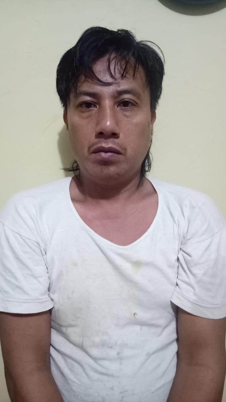 Ketgam : Pengedar Narkotika Jenis Sabu,Robi (33)