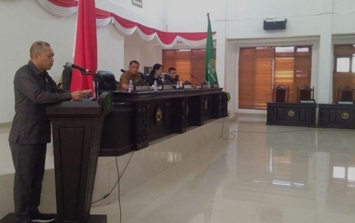 Ketua Badan Pembuatan Perda (Baperda) DPRD Kabupaten Konawe Hermansyah Pagala