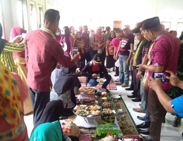 Ketgam : Penilaian lomba kuliner antar desa se Kecamatan Puriala