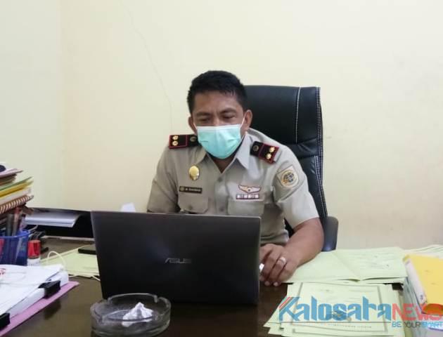 Ketgan. Kepala BPN Koltim M. Rahman